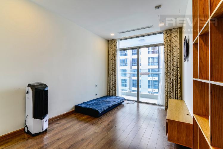 Phòng Ngủ 3 Căn hộ Vinhomes Central Park 3 phòng ngủ tầng cao P6 nội thất đẹp