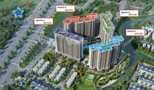 Bán căn hộ Safira Khang Điền 1 phòng ngủ, tầng 17, diện tích 50m2, nội thất cơ bản