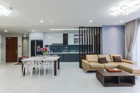 Cho thuê căn hộ The Gold View 3PN đầy đủ nội thất có ban công