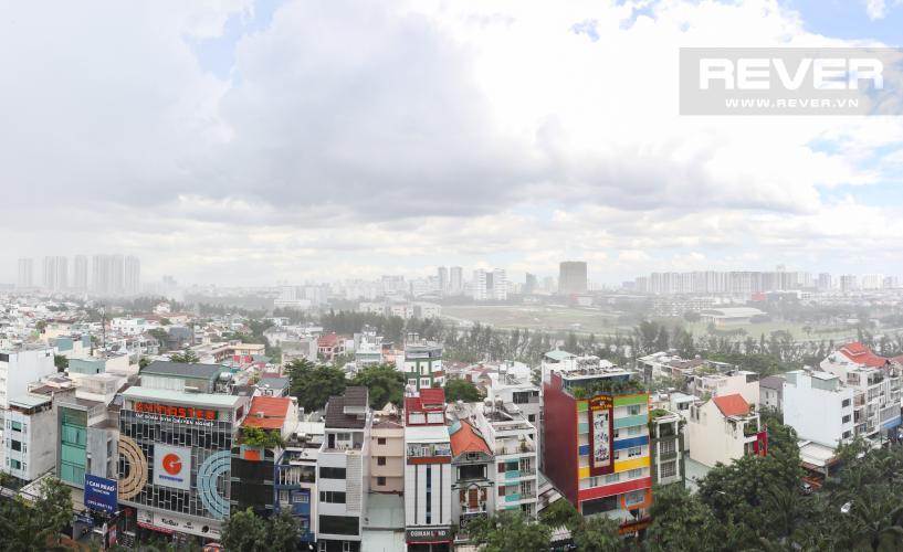 View Ban Công Bán hoặc cho thuê căn hộ Saigon Mia 2PN, tầng thấp, diện tích 65m2, nội thất cơ bản