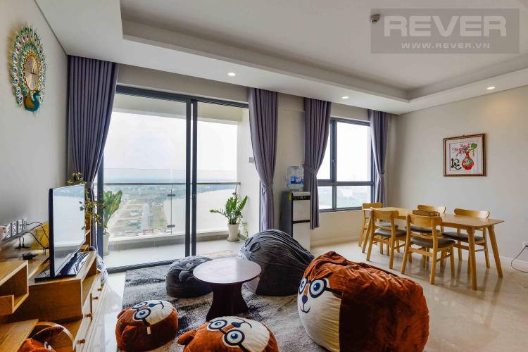 Phòng Khách Bán căn hộ Diamond Island view sông, 91m2 2PN 2WC, nội thất cao cấp