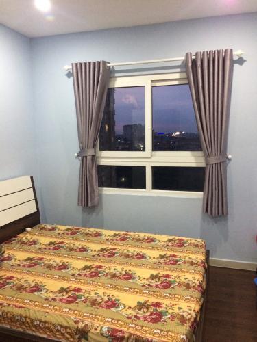 Phòng ngủ chung cư Phúc Yên, Tân Bình Căn hộ chung cư Phúc Yên hướng Đông Nam, đầy đủ nội thất.