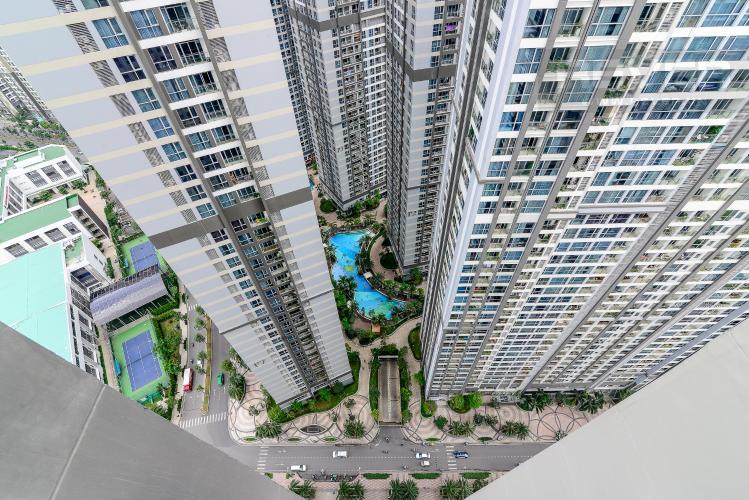 View Bán căn hộ Vinhomes Central Park 1PN, tháp The Central 2, đầy đủ nội thất, hướng Đông Bắc