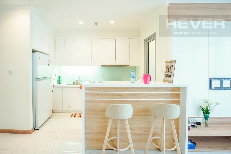 Phòng Bếp Bán căn hộ Vinhomes Central Park hướng Tây Bắc, 103m2 2PN 2WC, nội thất cao cấp, view thành phố