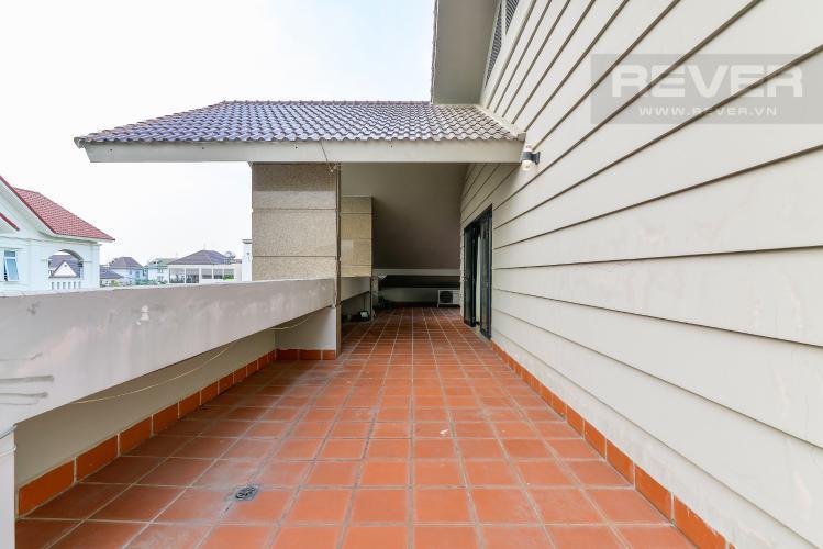 Sân Thượng Bán biệt thự Thạnh Xuân Quận 12, diện tích lớn, đầy đủ nội thất