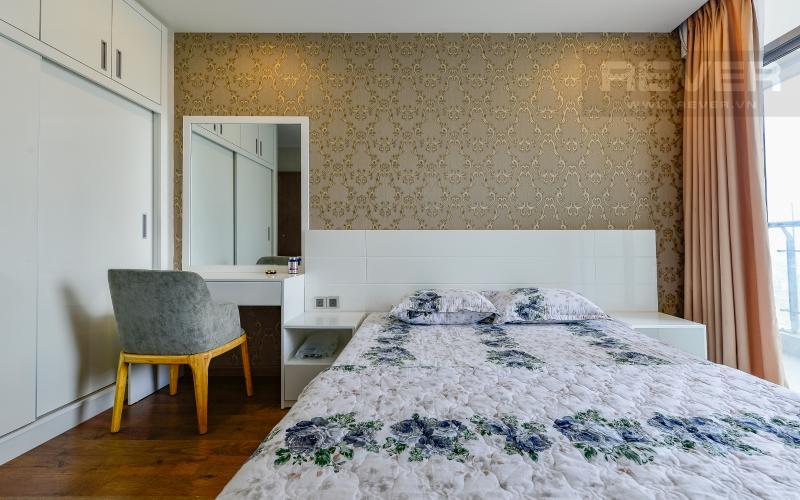phòng ngủ 2 Căn hộ Vinhomes Central Park tầng trung Park 6 view sông, nhiều tiện ích