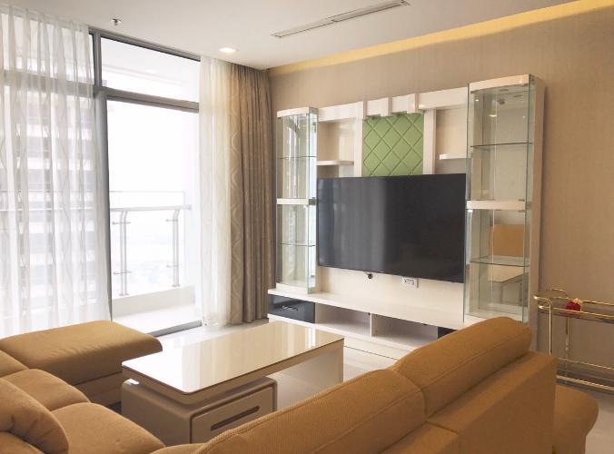 Căn hộ tầng cao Vinhomes Central Park đầy đủ nội thất, 3 phòng ngủ.