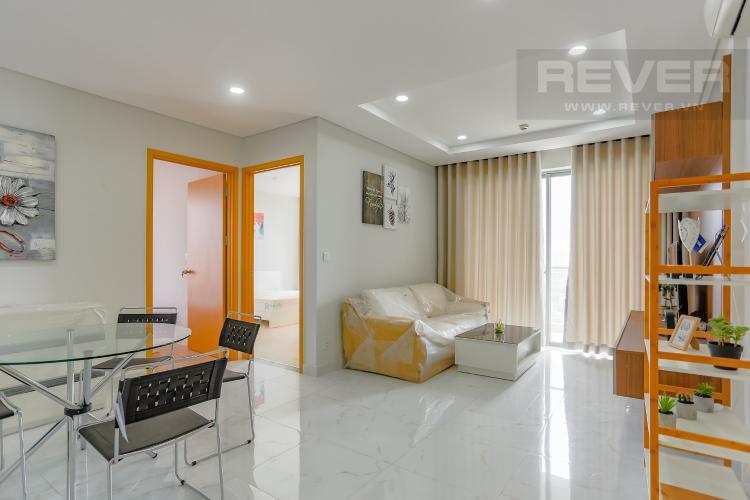 Phòng Khách Căn hộ An Gia Riverside 3 phòng ngủ tầng trung hướng Tây