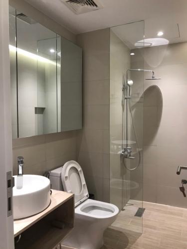 Phòng tắm , Căn hộ Palm Heights , Quận 2 Căn hộ Palm Heights tầng 9 nội thất gỗ hiện đại đầy đủ, thiết kế sang trọng.
