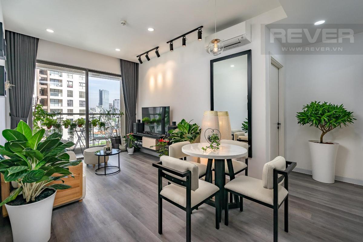 5f11f6f55ab9bce7e5a8 Bán căn hộ Masteri Millennium 2 phòng ngủ, block B, đầy đủ nội thất, view Bitexco