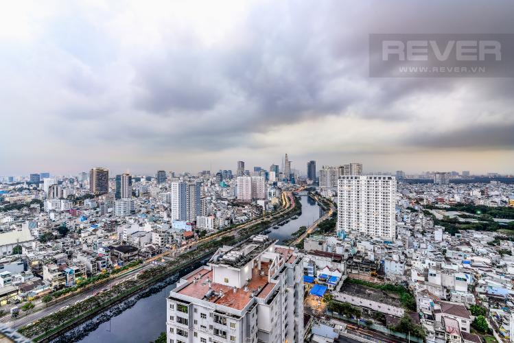 View Cho thuê căn hộ The Gold View tầng cao, view đẹp, 2PN đầy đủ nội thất