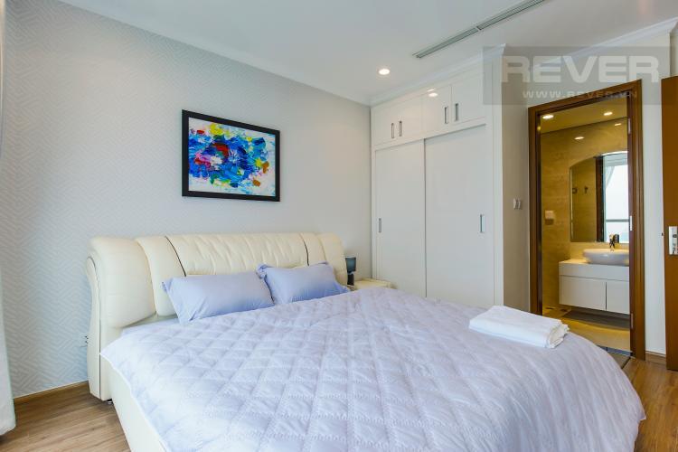 Phòng Ngủ 3 Căn hộ Vinhomes Central Park tầng cao L2 nội thất đẹp, tiện nghi