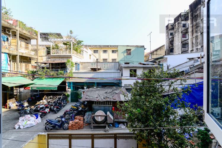 View Cho thuê nhà đường Nguyễn Thái Học diện tích 47m2 1PN 1WC, nội thất tiện nghi, view khu dân cư