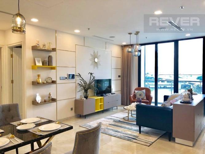 Phòng Khách Bán căn hộ Vinhomes Golden River 3PN, tầng thấp, đầy đủ nội thất, hướng Đông Bắc đón gió