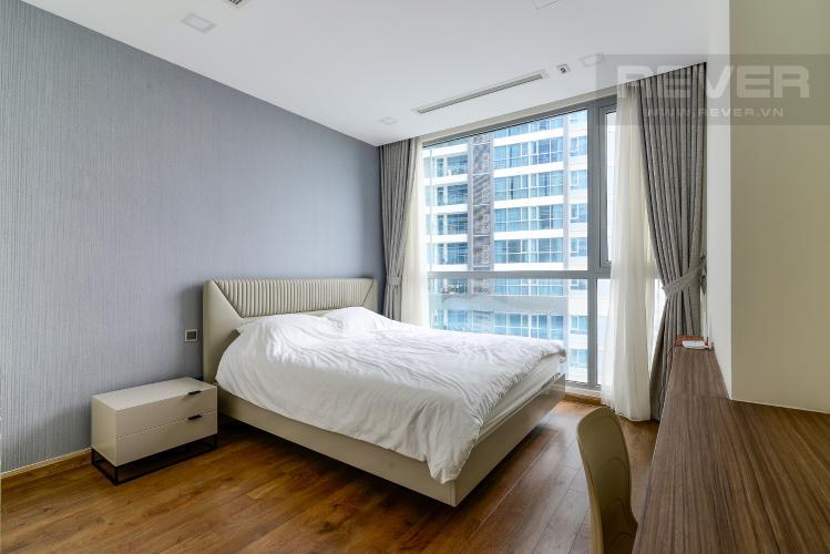 Phòng Ngủ 3 Cho thuê căn hộ Vinhomes Central Park 4PN, đầy đủ nội thất, view trực diện sông Sài Gòn