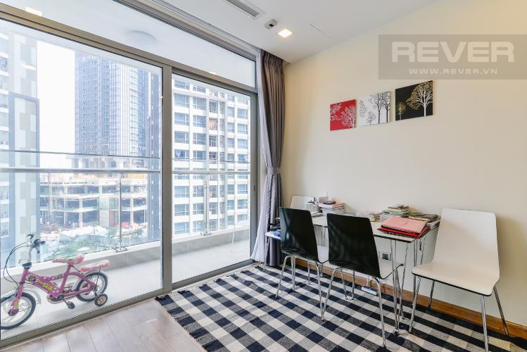 Phòng Ngủ 3 Căn hộ Vinhomes Central Park tầng thấp P6, 3 phòng ngủ, nội thất đầy đủ
