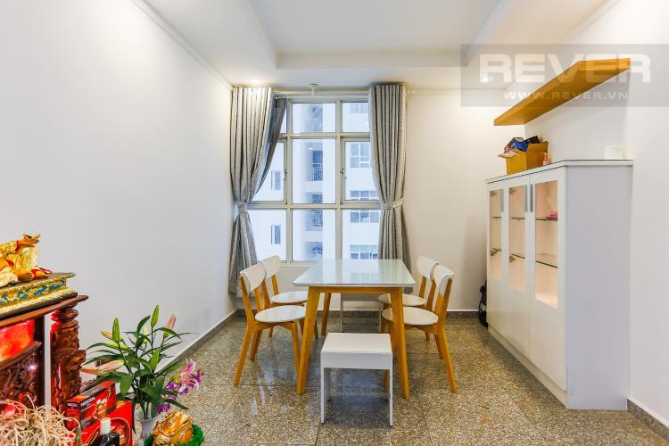 Phòng Ăn Căn hộ Hoàng Anh Thanh Bình 3 phòng ngủ tầng thấp nội thất mới đầy đủ