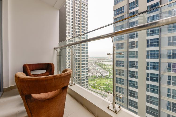 Bancony Căn hộ Vinhomes Central Park 3 phòng ngủ tầng trung P6 view sông