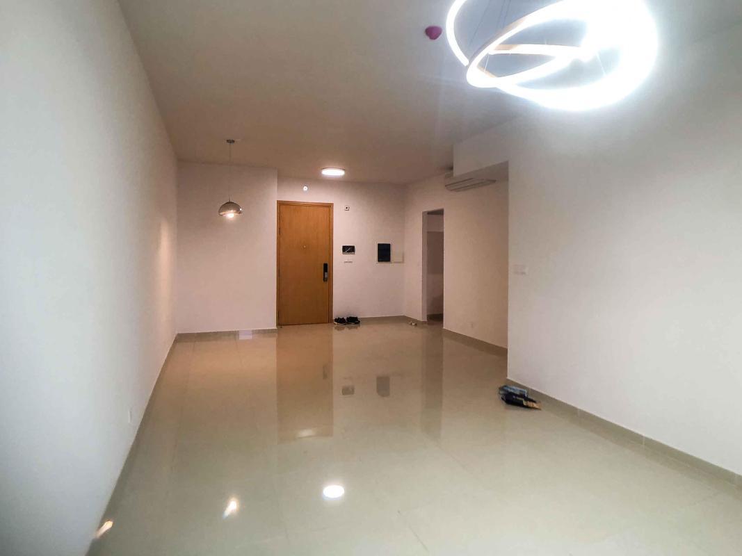 Phòng khách Cho thuê căn hộ Vista Verde 2PN, diện tích 88m2, nội thất cơ bản, view sông thông thoáng