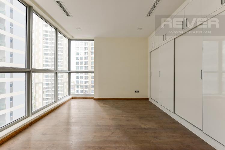 Phong ngủ 2 Căn góc Vinhomes Central Park 3 phòng ngủ tầng trung Park 5