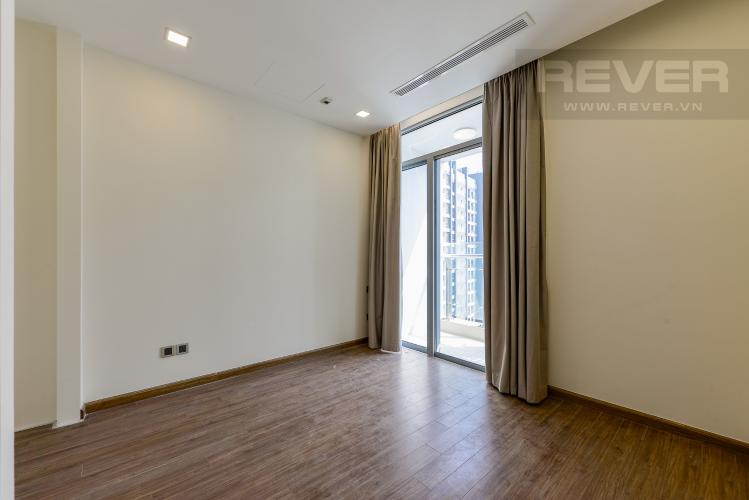 Phòng ngủ Officetel Vinhomes Central Park 1 phòng ngủ tầng cao P7 view sông