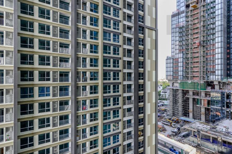 View Căn hộ Vinhomes Central Park 2 phòng ngủ tầng thấp L5 nhà trống