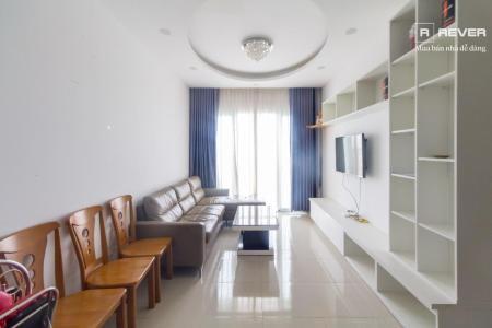 Cho thuê căn hộ Jamona City 2PN, tầng 24, nội thất cơ bản, view thoáng