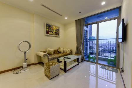 Căn hộ Vinhomes Central Park 1 phòng ngủ tầng thấp L2 nội thất đầy đủ