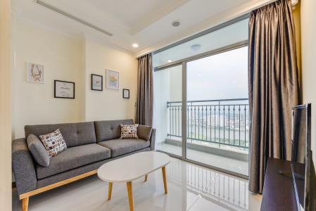 Cho thuê căn hộ Vinhomes Central Park tầng cao 2PN view sông
