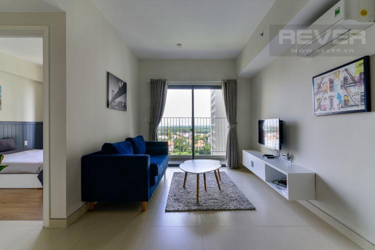 Phòng Khách Cho thuê căn hộ Masteri Thảo Điền 2PN, tháp T5, đầy đủ nội thất, view công viên nội khu