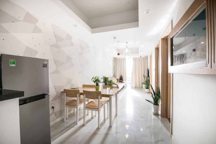 Phòng Khách Căn hộ Homyland 2 tầng cao 2 phòng ngủ đầy đủ nội thất