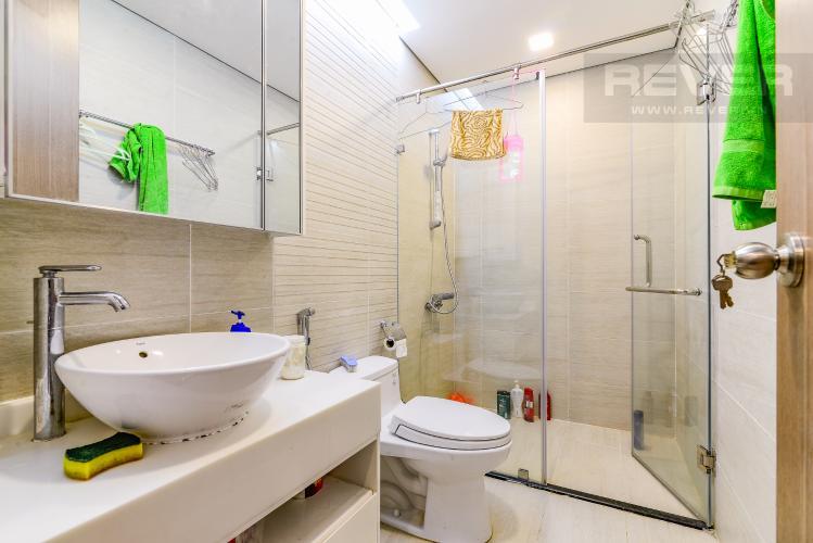 Phòng Tắm 1 Căn hộ Vinhomes Central Park tầng trung Park 7 đầy đủ nội thất