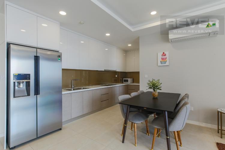 Phòng bếp căn hộ Masteri Millennium Bán căn hộ Masteri Millennium diện tích 105m2