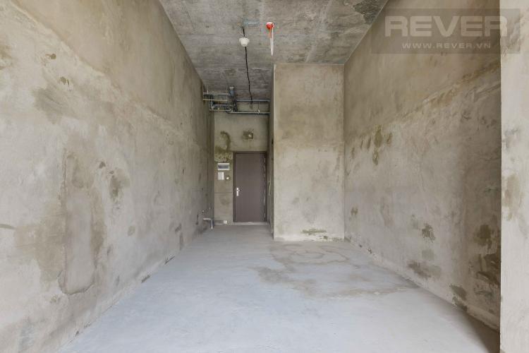 Phòng Khách Bán hoặc cho thuê căn hộ officetel The Sun Avenue thuộc block 4, diện tích 34m2, không có nội thất, hướng Tây Bắc