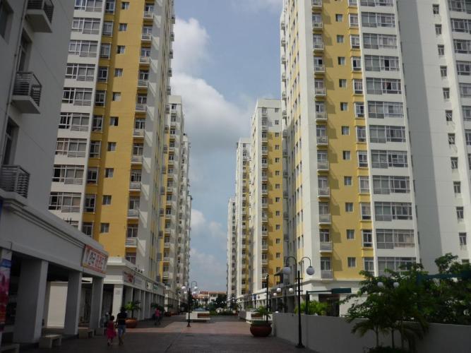 Tòa Sky Garden 3 Căn hộ Sky Garden 3 view nội khu thoáng đãng, tầng trung.