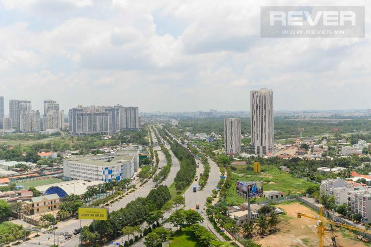 View Cho thuê căn hộ The Sun Avenue 3PN, hướng Đông Nam, đầy đủ nội thất, view sông mát mẻ