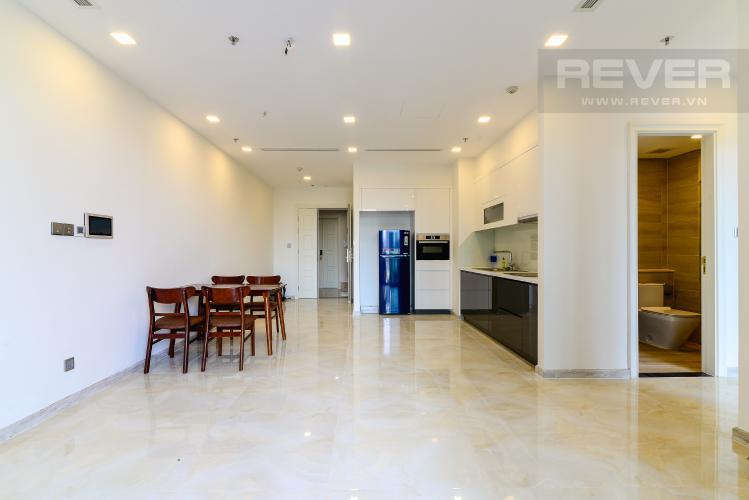 Phòng Khách Bán căn hộ Vinhomes Golden River 72m2, 2PN 2WC, view hồ bơi nội khu