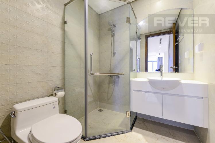 Phòng tắm 2 Căn hộ Vinhomes Central Park tầng cao L1, 3 phòng ngủ nội thất cơ bản