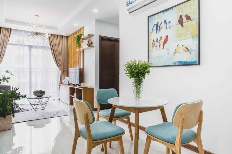 Phòng Khách Cho thuê căn hộ Him Lam Phú An 2PN, block C, diện tích 71m2, đầy đủ nội thất
