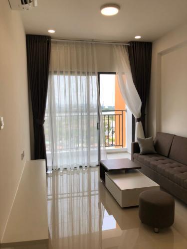 phòng khách căn hộ The Sun Căn hộ tầng 12 The Sun Avenue, view thành phố và Landmark 81