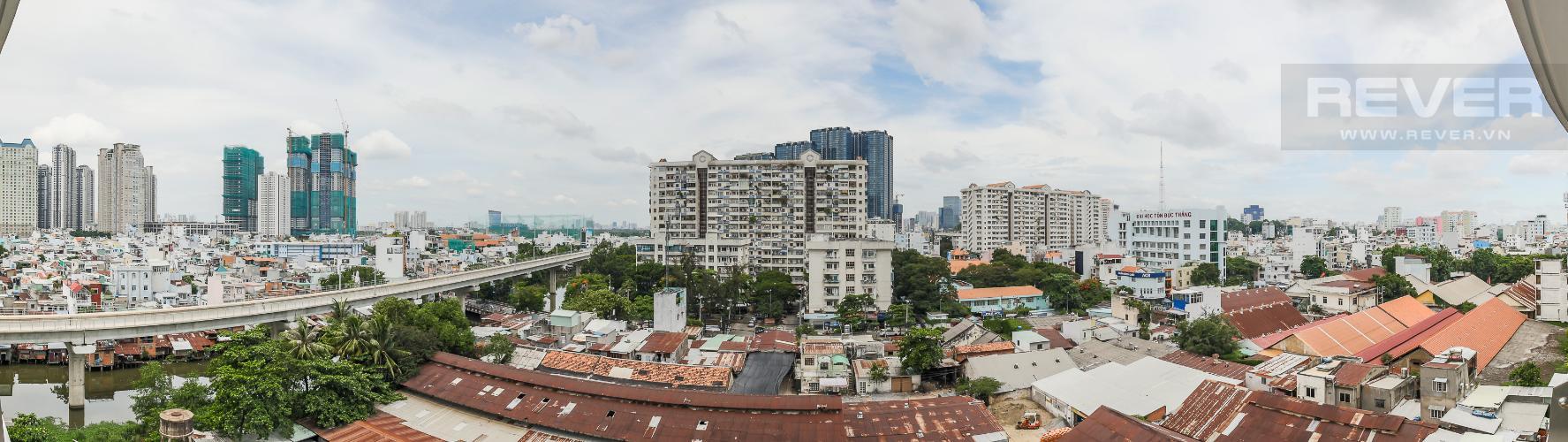 View Cho thuê căn hộ City Garden 1PN, diện tích 67m2, đầy đủ nội thất