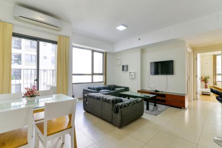 Cho thuê căn hộ Masteri Thảo Điền 2PN, tầng trung, tháp T3, đầy đủ nội thất, view hồ bơi