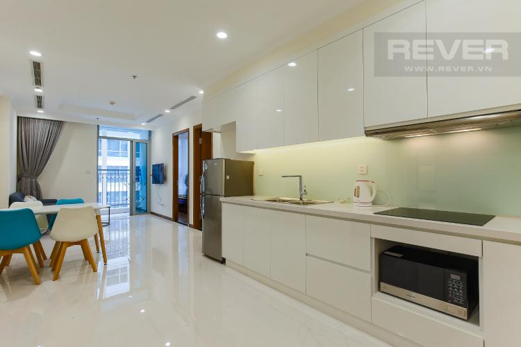 Phòng Bếp Officetel Vinhomes Central Park 1 phòng ngủ tầng cao Landmark 5