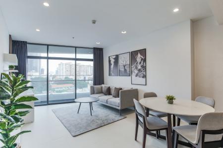 Bán hoặc cho thuê căn hộ City Garden 1PN, tầng thấp, diện tích 65m2, đầy đủ nội thất
