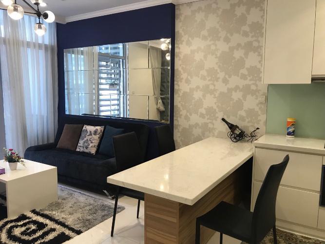 Bán căn hộ 1 phòng ngủ Vinhomes Central Park, diện tích 50.5m2, thiết kế sang trọng, nội thất đầy đủ.