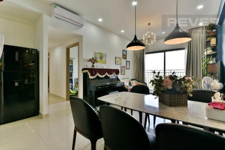 Cho thuê căn hộ The Sun Avenue tầng thấp, block 3, diện tích 89.7m2 - 3 phòng ngủ, đầy đủ nội thất