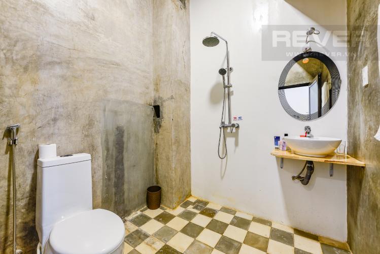 Phòng tắm Căn hộ dịch vụ 1 phòng ngủ đường Phan Văn Hân Bình Thạnh