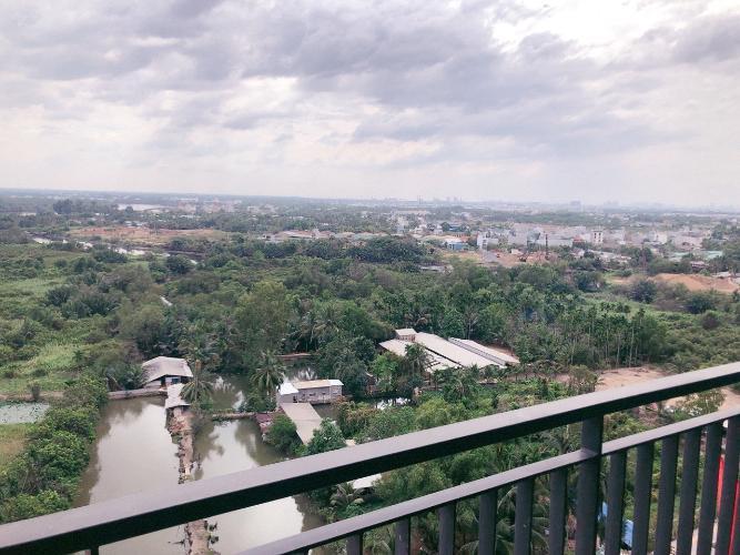 View ban công  căn hộ Vinhomes Grand Park, Quận 9 Căn hộ Vinhomes Grand Park nội thất cơ bản, ban công hướng Đông Nam.