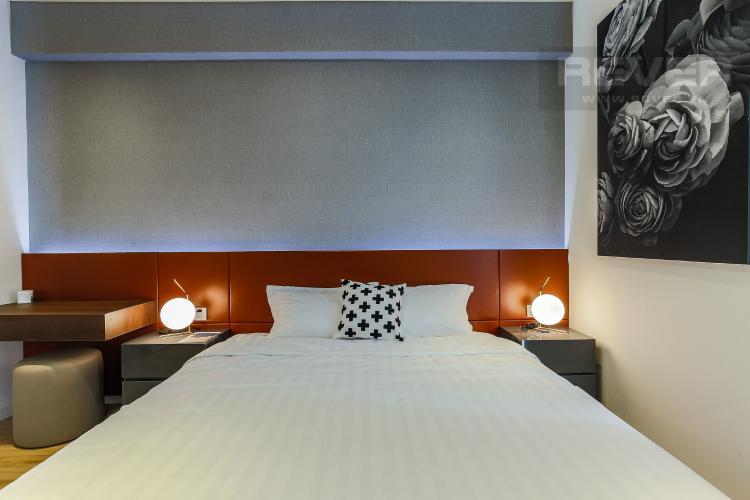 Phòng Ngủ 1 Căn hộ Masteri Millennium tầng cao 3PN đầy đủ nội thất