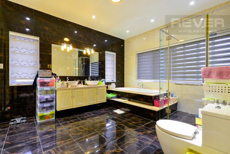 Phòng Tắm 1 Cho thuê biệt thự Khu dân cư An Phú, hướng Đông Nam, thiết kế sang trọng, đầy đủ nội thất